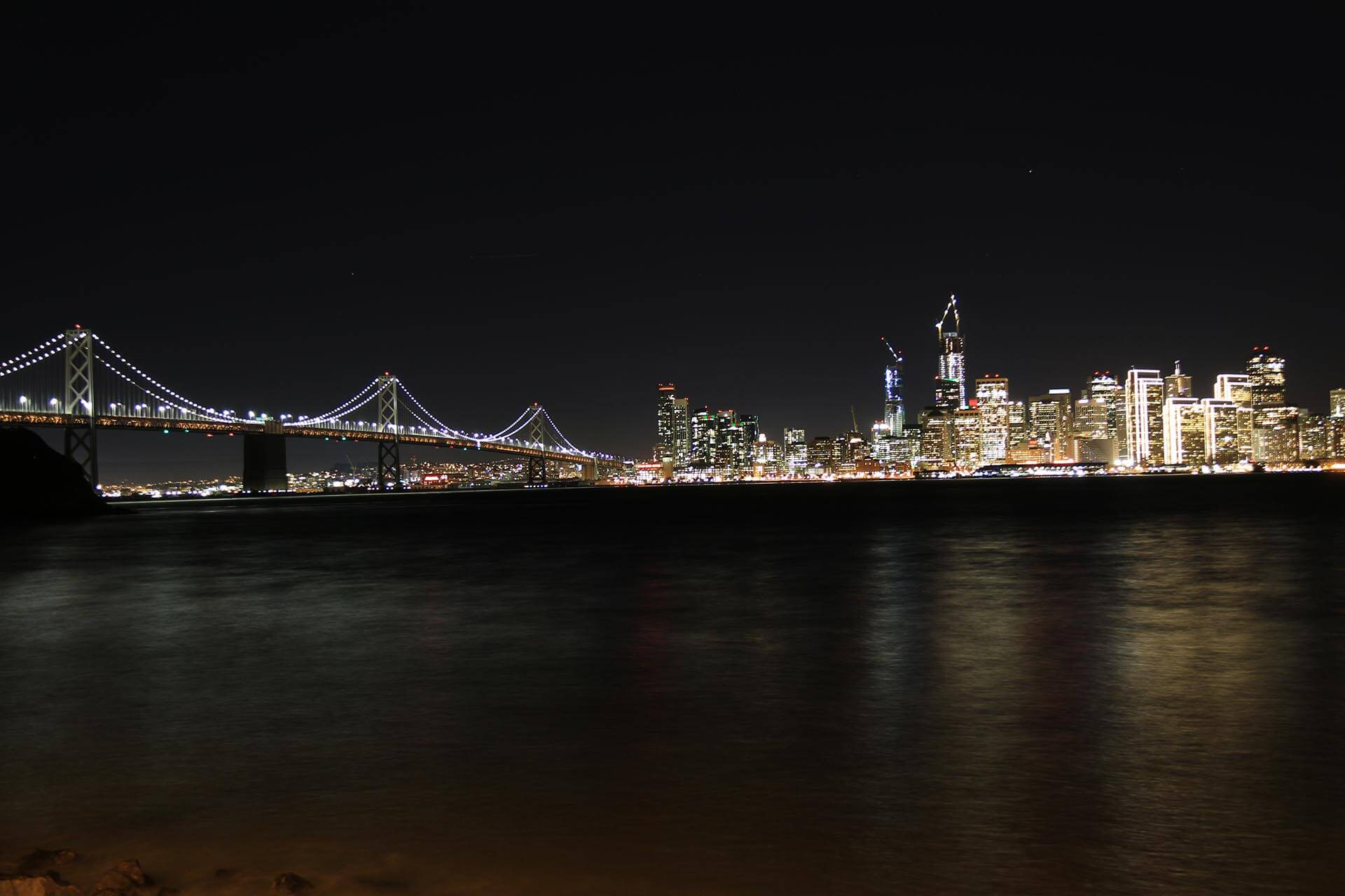 San Francisco at night John Luhr Photography